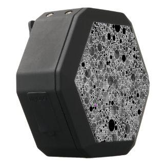 Kleines schwarzes graues Bling Muster Schwarze Bluetooth Lautsprecher