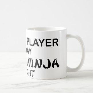 Kleines tödliches Ninja bis zum Nacht Kaffeetasse