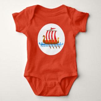 Kleines Viking Babybody