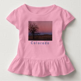 Kleinkind-Colorado-Rüsche-T-Stück Kleinkind T-shirt