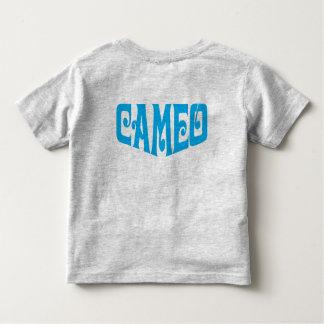 Kleinkind-T - Shirt mit blauem Miniatur-Logo