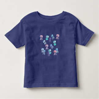 Kleinkind-T - Shirt mit Watercolorquallen