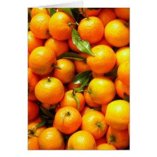 Klementinen am Nizza Obstmarkt Karte