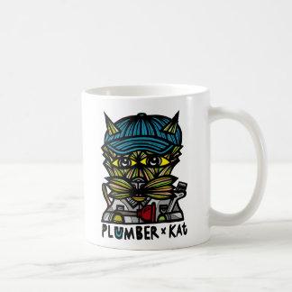 """Klempner Kat"" 11 Unze-Klassiker-Tasse Kaffeetasse"