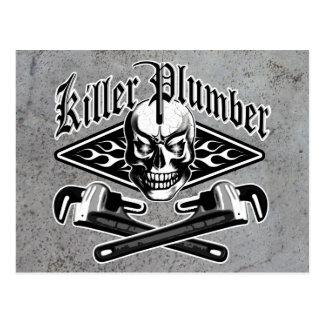 Klempner-Schädel: Mörder-Klempner 3,1 Postkarten