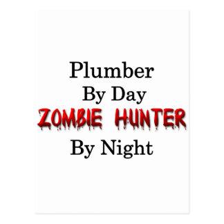 Klempner-/Zombie-Jäger Postkarten