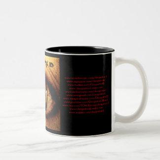 Kleopatra Identifikations-Fan-Tasse Zweifarbige Tasse