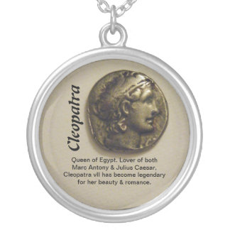 Kleopatra-Königin von Ägypten-Halskette Halskette Mit Rundem Anhänger
