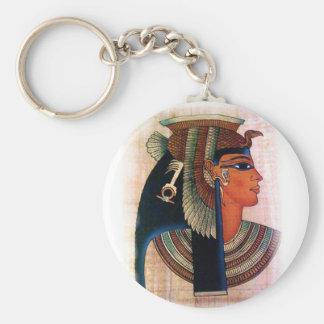 Kleopatra Standard Runder Schlüsselanhänger