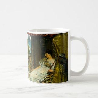 Kleopatra und Anthony 1883 Tasse