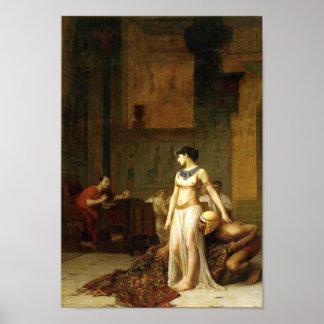 Kleopatra und Caesar Poster