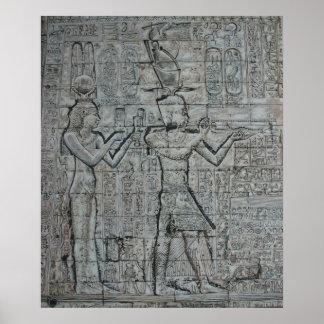 Kleopatra und Caesarion Poster