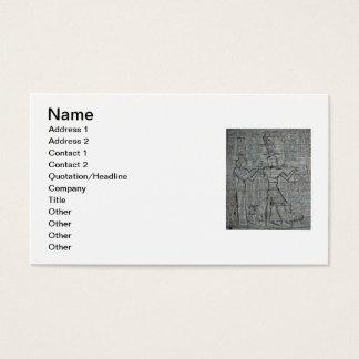 Kleopatra und Caesarion Visitenkarte