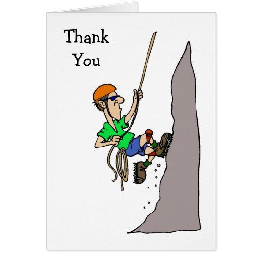 Klettern danken Ihnen Karten