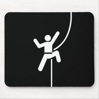 Klettern-Piktogramm Mousepad