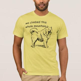 Kletterte das Gebirgst-shirt T-Shirt