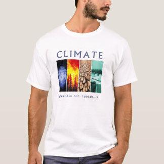 Klima: Ergebnisse nicht typisch T-Shirt