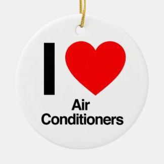 Klimaanlagen der Liebe I Keramik Ornament