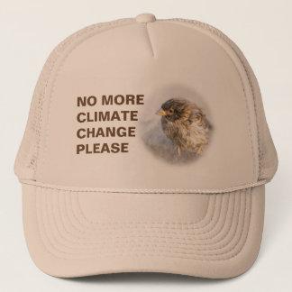 Klimawandelbewusstsein Truckerkappe
