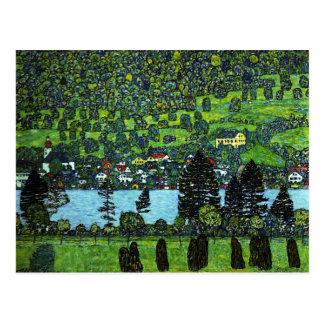 Klimt - Gebirgssteigung bei Unterach Postkarten