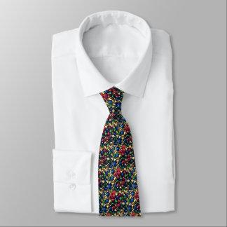 Klingel-vollständig Mehrfarbenbell-Krawatte Personalisierte Krawatte