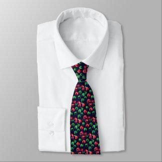 Klingel-vollständig rote u. grüne individuelle krawatte