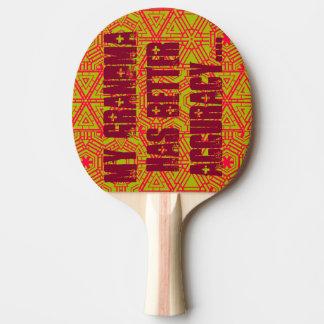 Klingeln-EIn-Tudes Tischtennis Schläger
