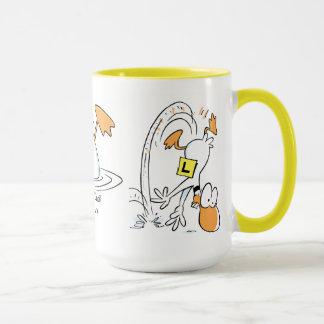 Klingeln-Enten-Fliegen-Kaffee-Tasse Tasse