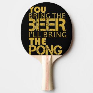 Klingeln pong Paddel-Bier pong Tischtennis Schläger