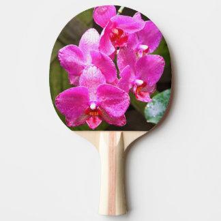 Klingeln Pong Paddel - Orchidee Tischtennis Schläger