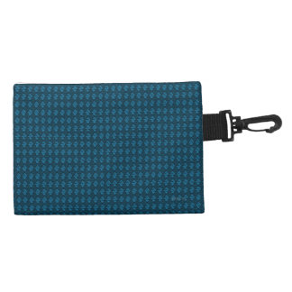 Klipp-auf-Zusatz-Tasche-Diamant-Meer-Blau Kulturtasche