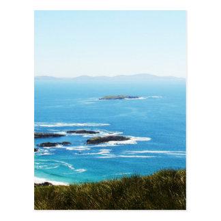Klippe in Irland Postkarte