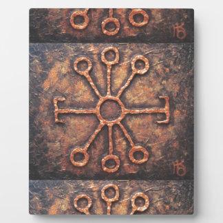 Kluge Rune Fotoplatte