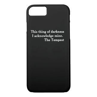 Kluger literarischer Telefon-Kasten Shakespeare iPhone 7 Hülle