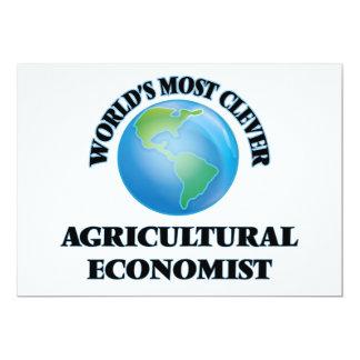 Klügste Agrarwissenschaftler der Welt der 12,7 X 17,8 Cm Einladungskarte