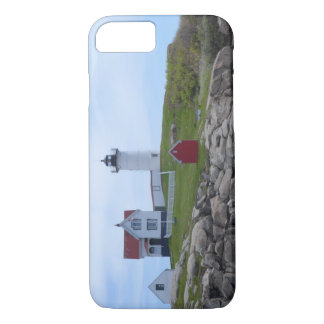 Klumpen-Leuchtturm - Maine iPhone 8/7 Hülle