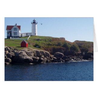 Klumpen Leuchtturm-Maine Karte
