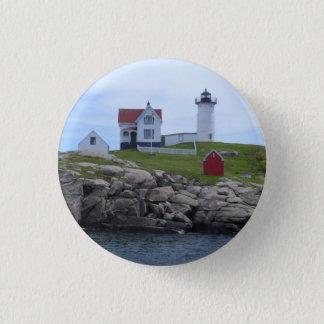 Klumpen-Leuchtturm - Maine Runder Button 2,5 Cm
