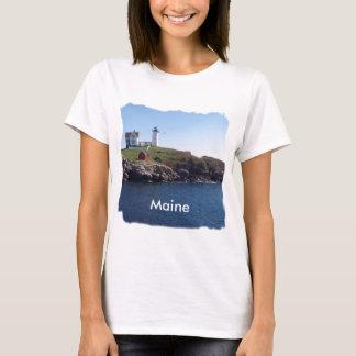 Klumpen Leuchtturm-Maine T-Shirt
