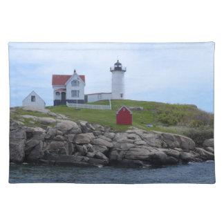 Klumpen-Leuchtturm - Maine Tischset