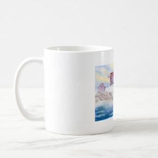 Klumpen-Leuchtturm-Tasse Tasse
