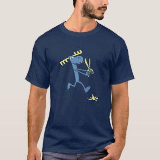 Klumpiger Betrieb mit Scheren T-Shirt