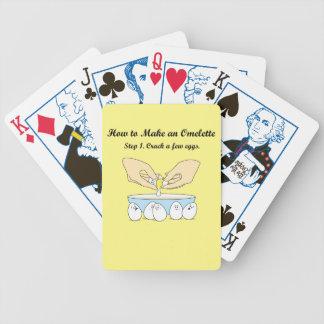 Knacken Sie einige Eier Bicycle Spielkarten