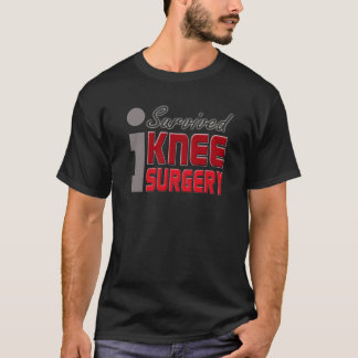 Knie-Ersatz-Operations-Überlebend-Shirt T-Shirt