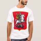 Knight on horseback killing the dragon T-Shirt