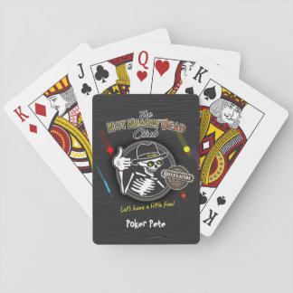 Knochen McGurks legendär Spielkarten