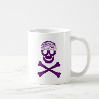 Knochen und Gehirne Kaffeetasse