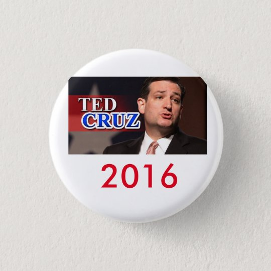 Knopf 2016 Teds Cruz Pinback Runder Button 3,2 Cm