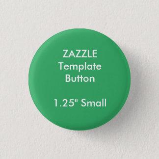 """Knopf-Button-Raum-Schablone der Gewohnheits-1,25"""" Runder Button 3,2 Cm"""