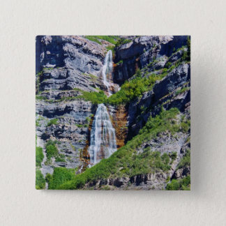 Knopf/Button Utah-Wasserfall-#1a- - durch